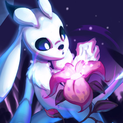 Ori - Cartoon illustration and fanart of Ori, the heroe of the video game 'Ori and the blind forest'