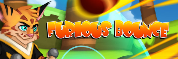 Furious Bounce Project, cartoon mobile video game