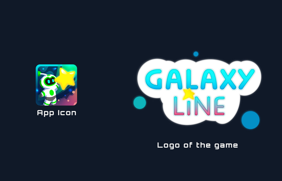 Logo du jeu video mobile Galaxy Line