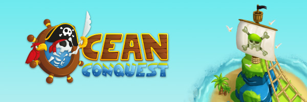 Mobile video game project Ocean Conquest